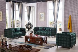 Designer Sofa Set Patchwork Grün Lionsstar Gmbh
