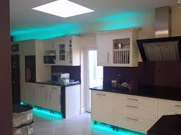 how to install led strip lights under kitchen cabinets and bathroom cabinets