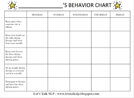 Printable Behavior Charts For Parents Behavior Charts Preschoolers Online Charts Collection