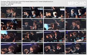 150128 Gaon Chart K Pop Awards Baekhyun D O Fancam