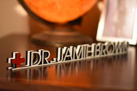 doctor desk name plate teacher name plate personalized description doctor name plate