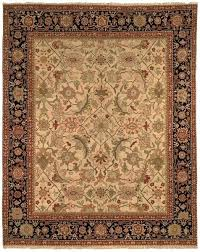 black and orange rug ivory ridgecrest distressed vintage area