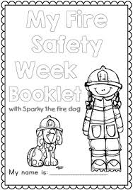 sparky the fire dog book. fire safety week with sparky the dog - worksheets for grades 1-2 book