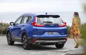 2018 honda suv. Brilliant 2018 2018 Honda CRV VTiL Rear And Honda Suv
