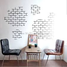 modern wall decals white brick wall decals modern wall decals abstract