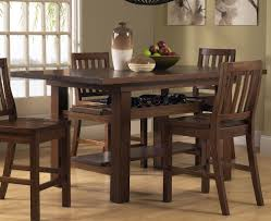 Pub Height Kitchen Table Sets Simple Counter Height Dining Table Set On Small Villa Remodel