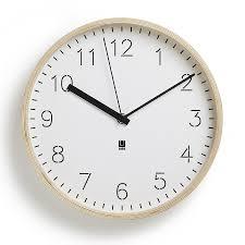 Купить <b>Часы настенные</b> Rimwood <b>белые</b>, Umbra (арт.118140-668)