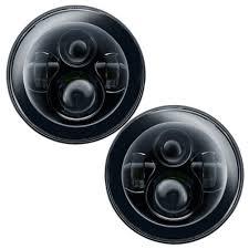 oracle lighting led headlight dual projector 7 black pair jeep wrangler jk 2007 2018