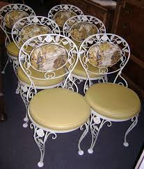 white wrought iron furniture. the amazing woodard wrought iron furniture vintage intended for house alluring white