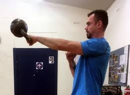 kettlebell swing with two simple cues
