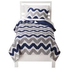 TARGET: Circo® Chevron Quilt Set - Navy Blue/Gray (quilt and sham ... & TARGET: Circo® Chevron Quilt Set - Navy Blue/Gray (quilt and sham Adamdwight.com