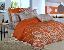 orange bedding sets and covers lostcoastshuttle set with regard to comforter designs 18