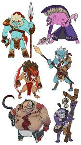 dota 2 more mini heroes by spidercandy on deviantart