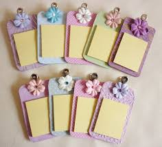 clipboard office paper holder clip. Mini Clipboard Crafts Chipboard Clipboards Post It Notes With Clips Make Small Office Paper Holder Clip