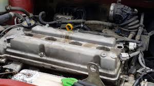 How to change the valve cover gasket on 08 suzuki sx4 part 1 - YouTube
