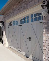 garage doors. Contemporary Garage CHI Fiberglass Carriage House Garage Door Model 5534A Intended Doors