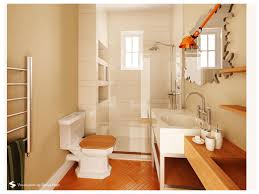 Toilet And Sink In One Interior Cool Design Using Parquet Flooring And One Piece Toilet