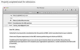 How To Email A Resume Inspiration How To Email My Resumes Engneeuforicco