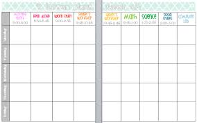 Best Photos Of Weekly Lesson Plan Book Template Free Blank