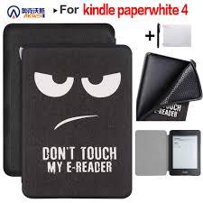 Cho Năm 2018 Phát Hành Máy Đọc Sách Kindle Paperwhite 4 PQ94WIF E Đầu Đọc  10th Chống Nước Sách Điện Tử Slim TPU Ốp Lưng|Vỏ máy tính bảng & e-book
