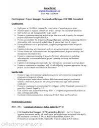 Civil Construction Engineer Sample Resume 19 Project Engineer .