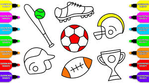 Marvelous Sports Coloring Pages For Kids Image Inspirations Free