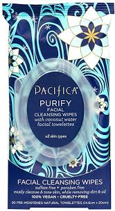 Pacifica <b>Purify</b> Coconut Water <b>Cleansing Facial Wipes</b> - 30 <b>Towelettes</b>