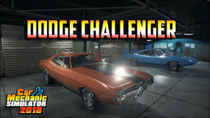 2018 dodge build. Wonderful Build Car Mechanic Simulator 2018  Dodge Challenger One Day Build Inside Dodge Build