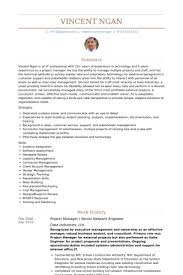 Senior Network Engineer Resume Samples Visualcv Resume Samples