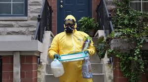 Hazmat Worker Sees No Reason To Throw Away All This Perfectly Good Food