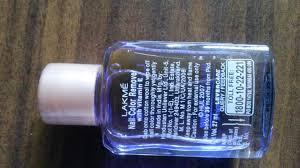 lakme nail color remover