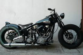 hd panhead bobber 1953 sold vintage hd motorcyclesvintage hd
