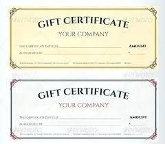 Editable Gift Certificate Template Free Best Templates Ideas On