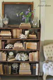 Old books & natural elements, charmingly arranged - Faded Charm