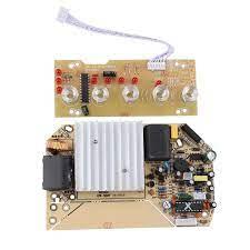 800W 220V ısıtma kontrol paneli için indüksiyon ocak PCB devre ile bobin  elektromanyetik Induction Cooker Parts