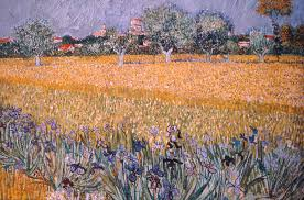 up close van gogh the artful blogger field