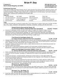 Technical Writing Resume Sample Technical Writing Resume Samples