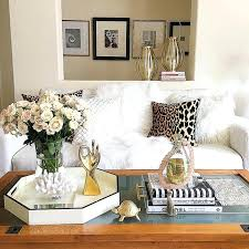styling a coffee table tble esy marble emily henderson white style