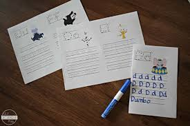 Simply print out an entire alphabet or enlarge a few letters, dish out some art supplies like crayons, colored pencils, and washable markers, and turn your kiddos loose! Free Disney Alphabet Coloring Pages