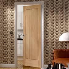 Suffolk Oak Door - Vertical Lining