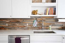 Reclaimed Wood Backsplash Tiles For Kitchens Bathrooms within size 1932 X  1288
