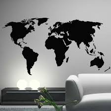 map of decor world map wall decoration ideas including outstanding clock poster global map