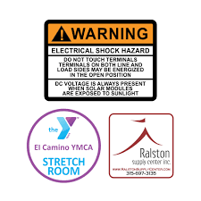 custom labeling stickers custom equipment labels equipment stickers identame labels