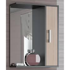 """<b>Шкаф</b>-зеркало """"Эко-65"""" 20 х <b>65 х 75 см</b>, венге/дуб молочный ..."""