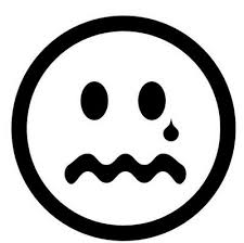 Small Picture face black and white clipart
