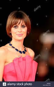 Italian actress Claudia Pandolfi arrives at the opening of the 7th Stock  Photo - Alamy