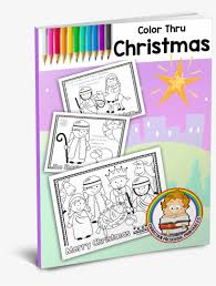 christmas colouring pages with