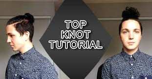Topknot Hair Style top knot tutorial mens hair styles youtube 6108 by wearticles.com