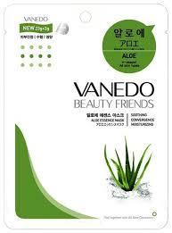 Vanedo <b>Увлажняющая маска для</b> лица с эссенцией алоэ ...