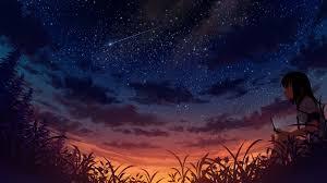 1920x1080 Anime Night Sky Wallpapers ...